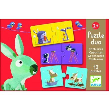 Puzzle Duo - motsatser