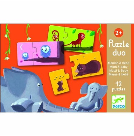 Puzzle Duo - Mom & Baby