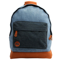 Mi-pac Denim Patch Backpack