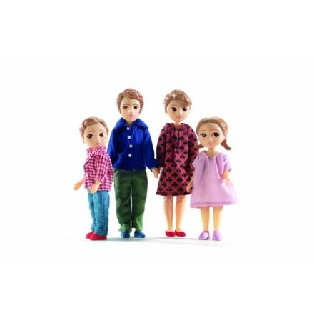 Djeco - Dollhouse - The Family Thomas & Marion