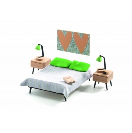 Djeco - Dollhouse - The Parent´s Room
