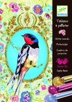 Djeco Glitter Boards - Birds