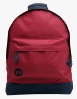 Mi-pac Backpack Classic Burgundy-Navy