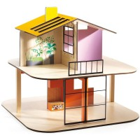 Djeco Color Doll House