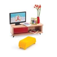Djeco - Dollhouse - The TV room