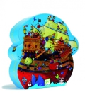 Djeco Pussel - Barbarossas skepp