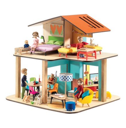 Djeco Modern Doll House