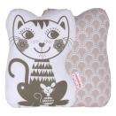Roommate - Soulmate Cat Grey / pale rose