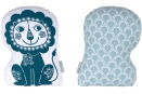 Roommate - Soulmate Lion Blue / grey-blue