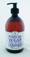 Flytande naturtvål Barbers Vegan