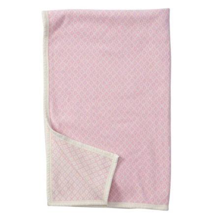 Babyfilt Klippan Vega pink