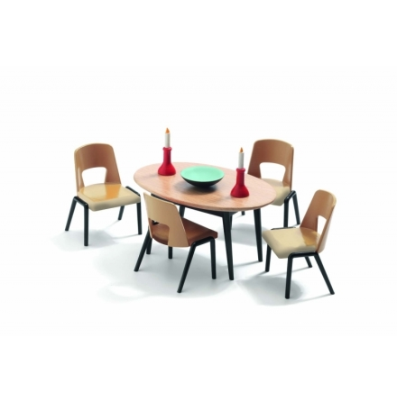 Djeco - Dollhouse - The dining room