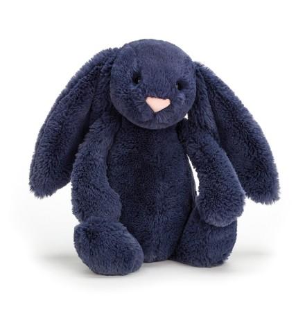 JellyCat - Bashful Navy Bunny