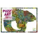 Djeco - Puzzle Chameleon