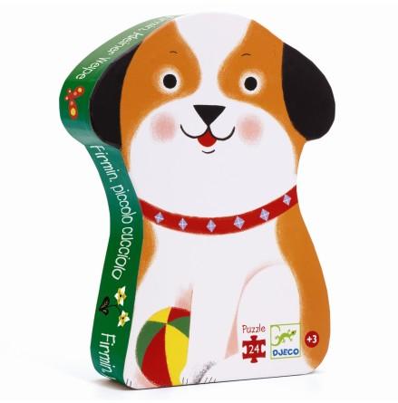 Djeco - Siluettepussel Hunden Firmin
