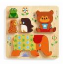 Puzzle - Relief Woodypile