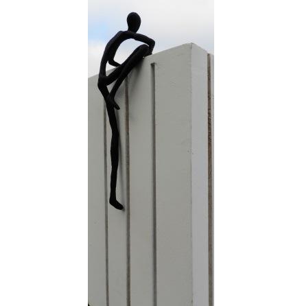 Metallfigur - Klättrande man