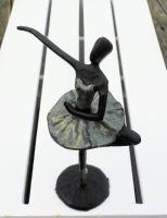 Metallfigur - Ballerina