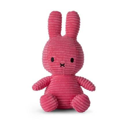 "Miffy Corduroy - 23 cm ""Bubblegum"" pink"