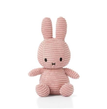 Miffy Corduroy - 23 cm, Pink