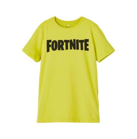 T-shirt Fortnite neon