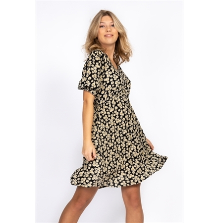 Daisie Dress black sand