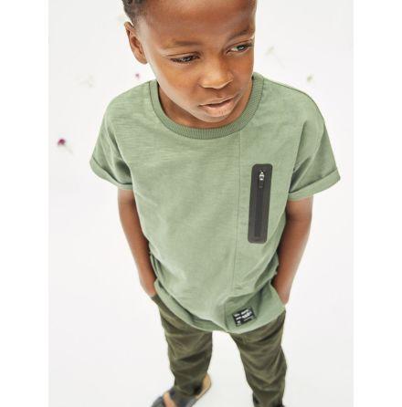 T-shirt Ekologisk bomull Duck green