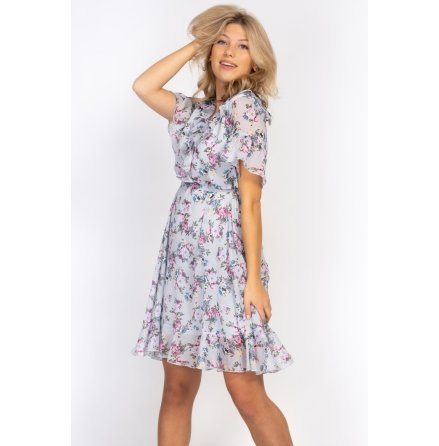 Violette Dress Dream blue/Lavender Rose blush